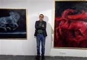 جدیدترین نمایشگاه نقاشی «حسن روحالامین» افتتاح شد+عکس