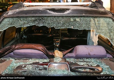 تهران  دستگیری ۳ شروری که ۱۵ خودرو را تخریب کردند