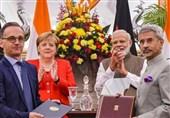 امضا 17 تفاهمنامه همکاری بین آلمان و هند