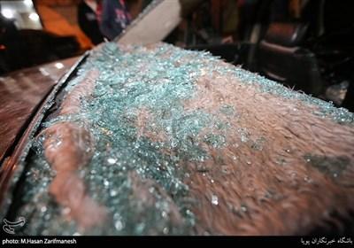 تخریب ۱۳ دستگاه خودرو توسط اوباش در منطقه پیروزی