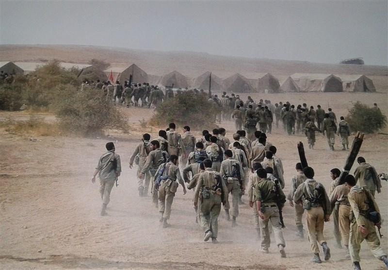 آیین گرامیداشت عملیات محرم در دهلران به روایت تصویر