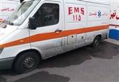 مرگ بیمار قلبی پس از پنچر کردن آمبولانس با قمه همسایه + تصاویر
