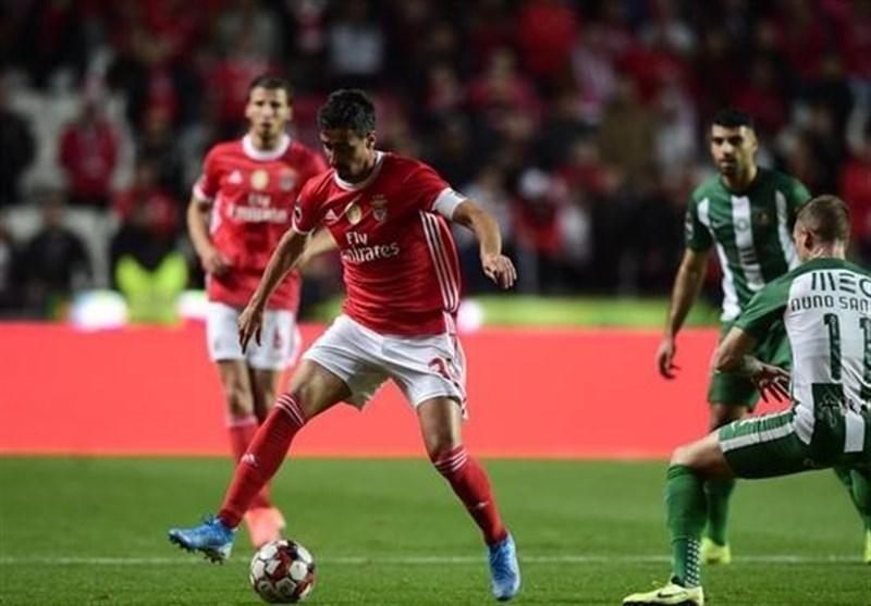 لیگ برتر پرتغال| شکست ریوآوه برابر بنفیکای صدرنشین