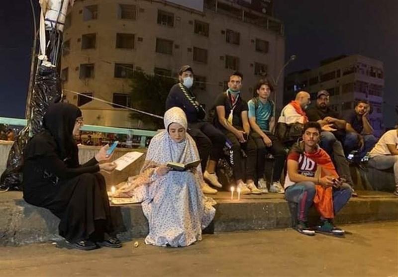 عراق| تظاهرات کارکنان عتبات مقدسه در کربلا/ شب آرام پایتخت و کاهش ساعات منع آمد و شد+تصاویر