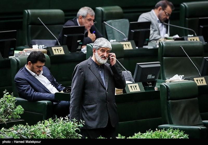 علی مطهری در جلسه علنی مجلس شورای اسلامی