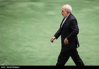 سؤال از محمدجواد ظریف در جلسه علنی مجلس
