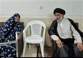 دیدار نماینده ولی فقیه در خوزستان با خانواده شهدا + تصویر