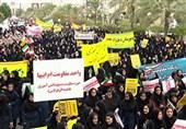 راهپیمایی یومالله 13 آبان در سراسر استان گلستان برگزار شد