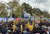 راهپیمایی 13 آبان باشکوهتر از همیشه در قزوین برگزار شد