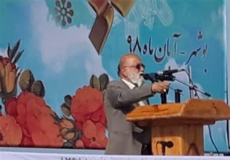 چمران در بوشهر: دانش آموزان باید در برابر نفوذ فرهنگی دشمن واکسینه شوند