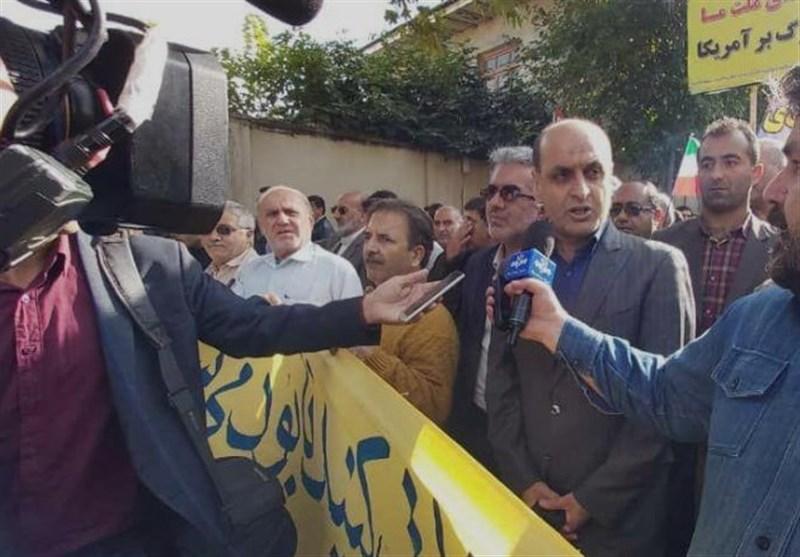 استاندار گلستان: راهپیمایی 13 آبان نماد انقلاب اسلامی در مبارزه با ظلم و استعمار است