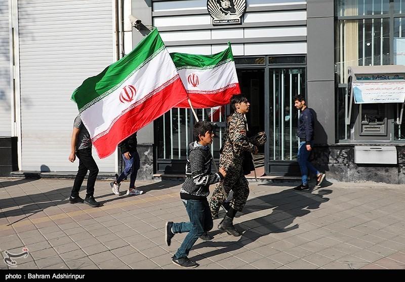 راهپیمایی 13 آبان اردبیل به روایت تصویر