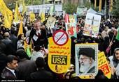 خراسان شمالی| دهه پنجم انقلاب دهه استکبار ستیزی؛ هیچگاه تسلیم آمریکا نمیشویم + فیلم