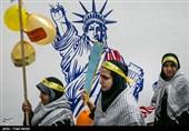 راهپیمایی یومالله ۱۳ آبان در تهران
