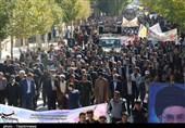 راهپیمایی 13 آبان در استان اصفهان به روایت تصاویر