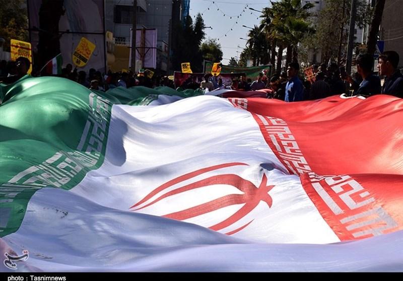 راهپیمایی یومالله 13 آبان ماه در زاهدان به روایت تصاویر