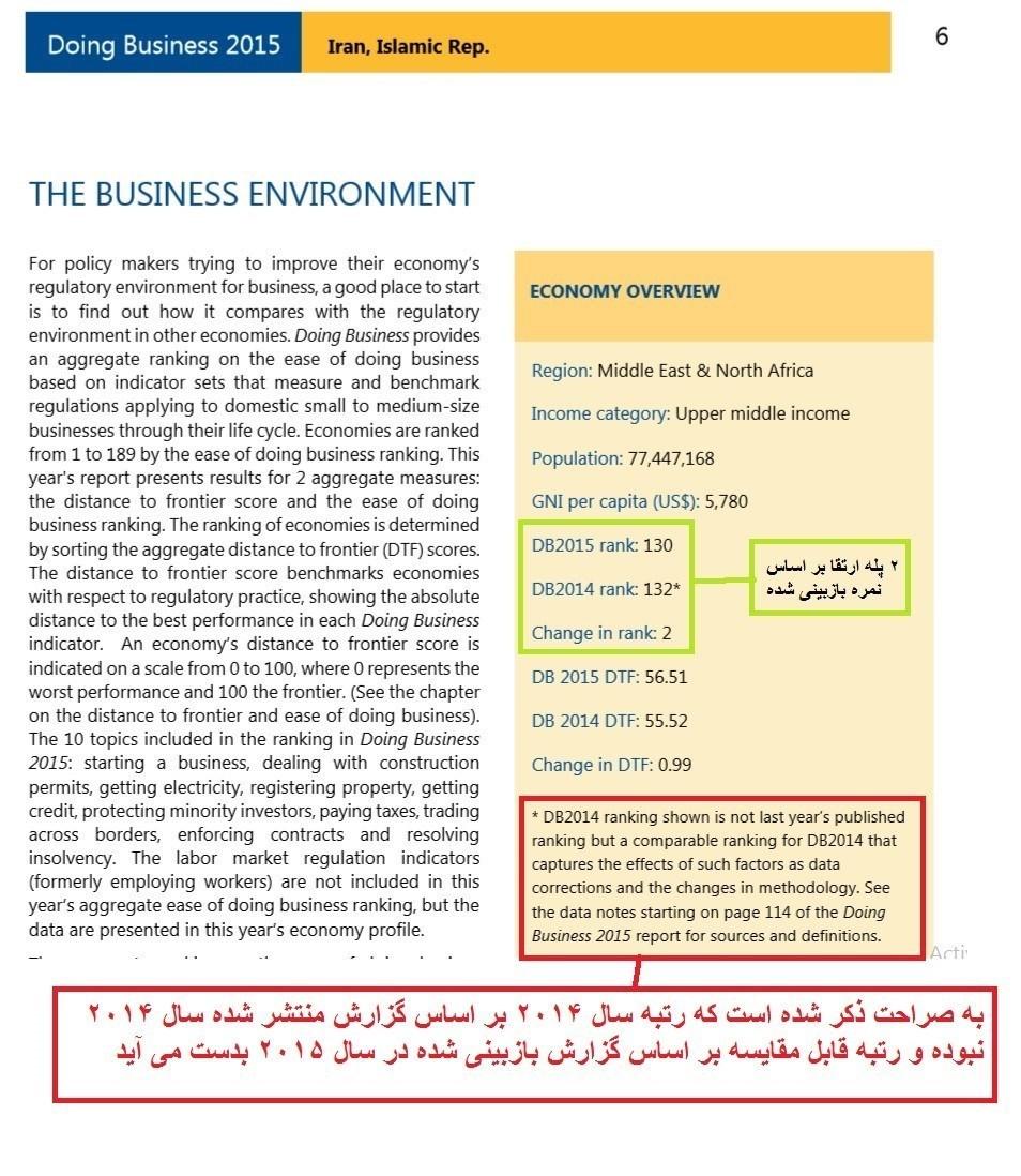 بانک جهانی , وزارت امور اقتصادی و دارایی جمهوری اسلامی ایران ,