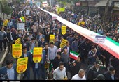 راهپیمایی یومالله 13 آبان ماه در استان گلستان به روایت تصاویر