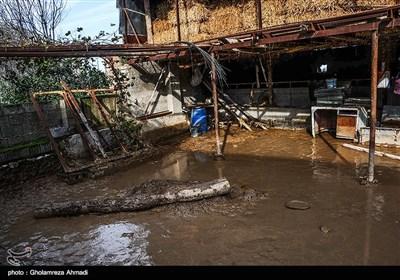 خسارات سیل روستاهای ولمازو و لمراسک-مازندران