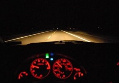 اخبار فنی خودرو|7 توصیه فنی برای رانندگی در شب