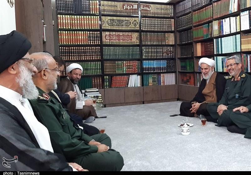 اهواز| دیدار سردار غیبپرور با نماینده ولی فقیه در خوزستان + تصویر