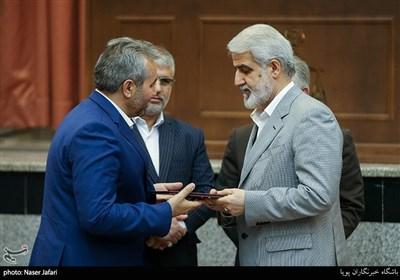 مراسم تکریم و معارفه رئیس کل دادگاه های عمومی و انقلاب تهران
