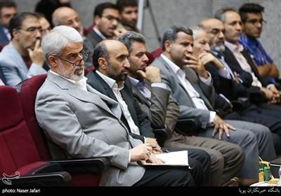 محمدجواد حشمتی در مراسم تکریم و معارفه رئیس کل دادگاه های عمومی و انقلاب تهران