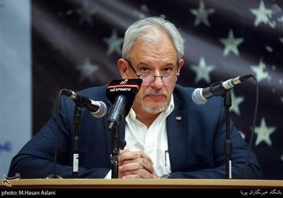آلکسیس باندریچ وگا سفیر کشور کوبا در مراسم پنجمین همایش زنده باد مرگ بر آمریکا