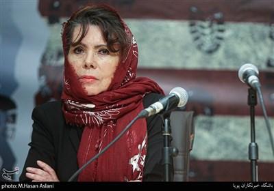 رومینا پرز راموس سفیر کشور بولیوی در مراسم پنجمین همایش زنده باد مرگ بر آمریکا
