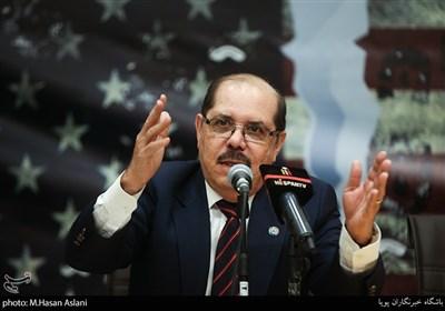سخنرانی مارکو بارکرو بالتودونو سفیرکشور نیکاراگوئه در مراسم پنجمین همایش زنده باد مرگ بر آمریکا