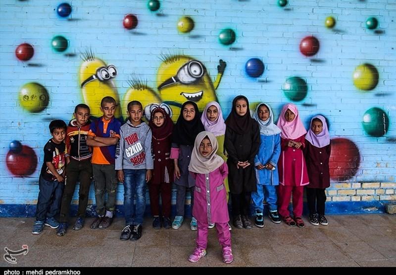 """شادی کودکانه در """"ونیز خوزستان """"+ تصاویر"""
