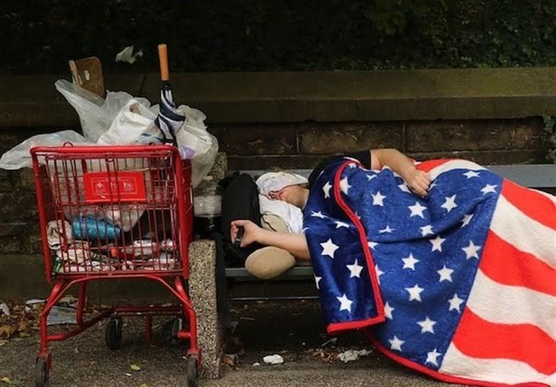 افزایش فقر در آمریکا با شیوع کرونا/ 11.4 درصد جمعیت آمریکا زیر خط فقر زندگی میکنند
