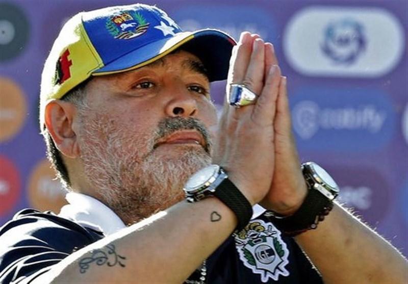 جدایی مارادونا از «خیمناسیا»