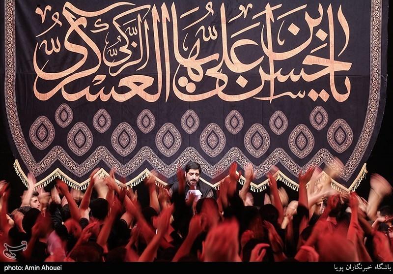 برافراشته شدن بیرق عزای امام حسن عسکری(ع) در قزوین؛ شهر غرق در ماتم و اندوه