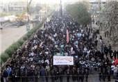 کراچی، چپ تعزیئے کا جلوس نشتر پارک سے برآمد