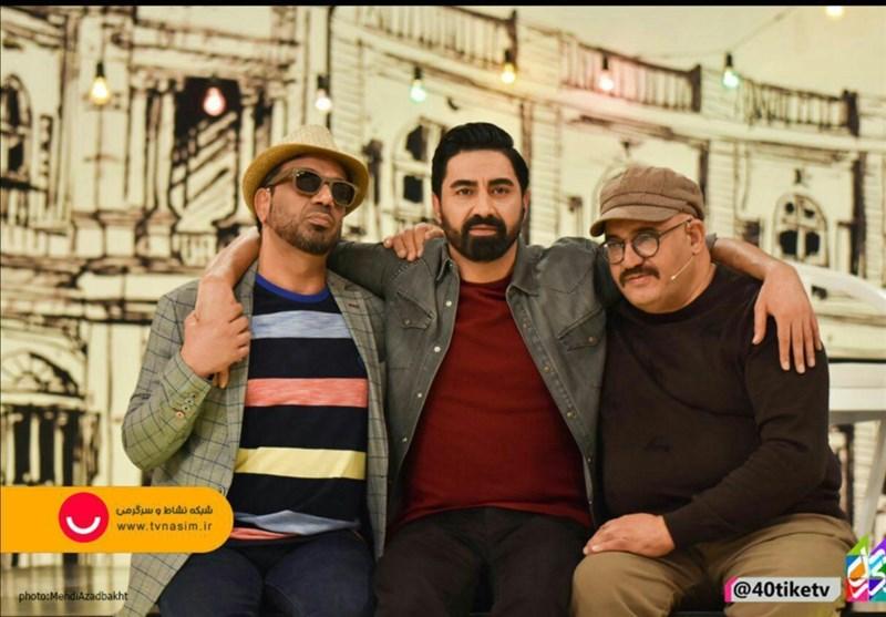 نادر سلیمانی و نصرالله رادش میهمان تلویزیون شدند