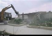 مازندران| 24 ویلای غیرمجاز در نور تخریب شد