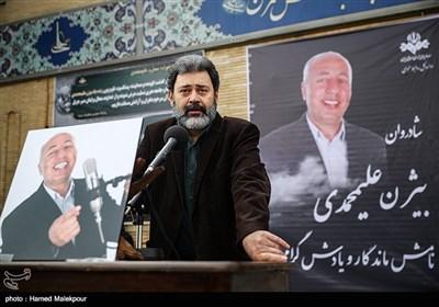 سخنرانی محمدرضا ورزی در مراسم تشییع پیکر زندهیاد بیژن علیمحمدی