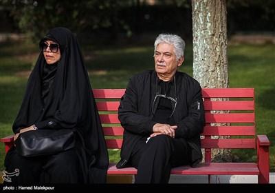 عباس نباتی در مراسم تشییع پیکر زندهیاد بیژن علیمحمدی
