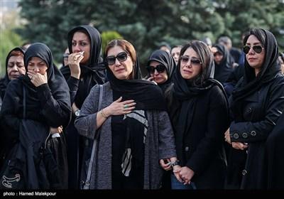 مراسم تشییع پیکر زندهیاد بیژن علیمحمدی دوبلور پیشکسوت