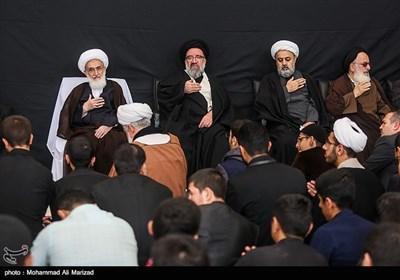 عزاداری شهادت امام حسن عسکری(ع) با حضور مراجع عظام تقلید