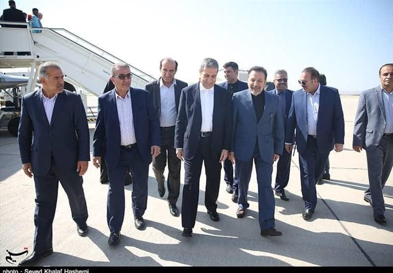 بوشهر  سفر رئیس دفتر رئیس جمهور به عسلویه به روایت تصویر