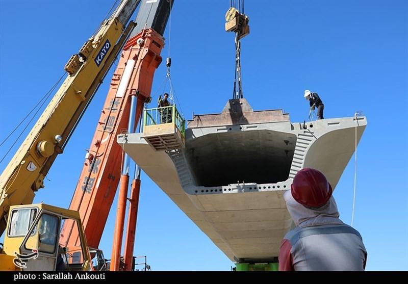 آخرین وضعیت پروژه تقاطع غیرهمسطح شهید بادپا کرمان به روایت تصویر
