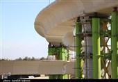 تقاطع غیرهمسطح شهید بادپا کرمان 86 درصد پیشرفت فیزیکی دارد