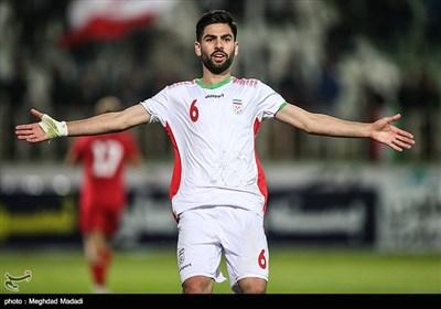 یاسین سلمانی بازیکن تیم فوتبال جوانان ایران