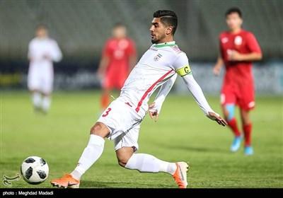 احمدرضا جلیلی کاپیتان تیم فوتبال جوانان ایران