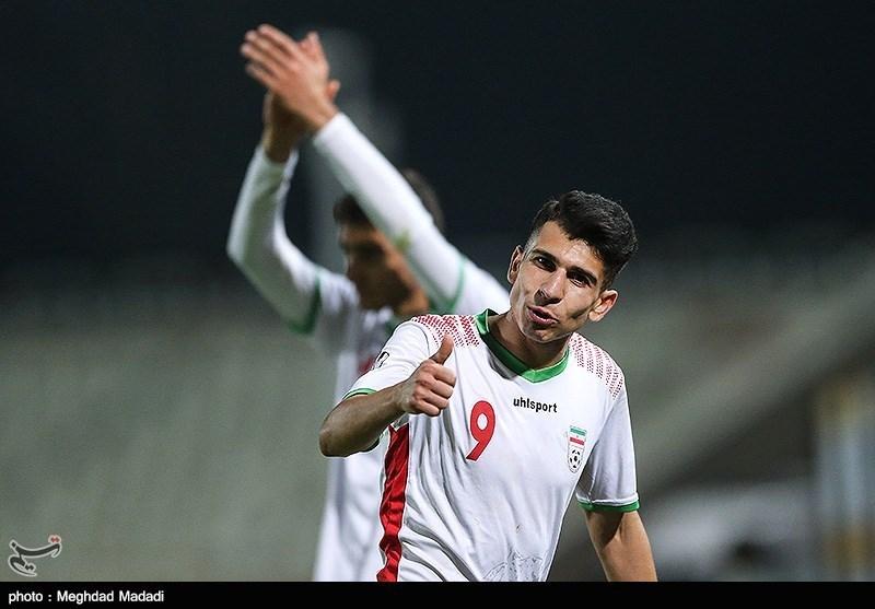 مقدماتی فوتبال جوانان آسیا  منظمی بهترین بازیکن دیدار ایران - نپال شد