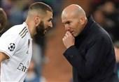 زیدان: بنزما در تاریخ باشگاه رئال مادرید مانند رونالدو است/ دیدن بازی رودریگو لذتبخش است
