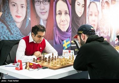 احسان قائم مقامی استاد بزرگ شطرنج در مسابقات جام پایتخت