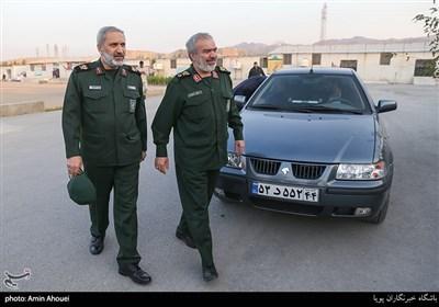حضور سردار فدوی در مرکز بازپروری شهید زیادیان
